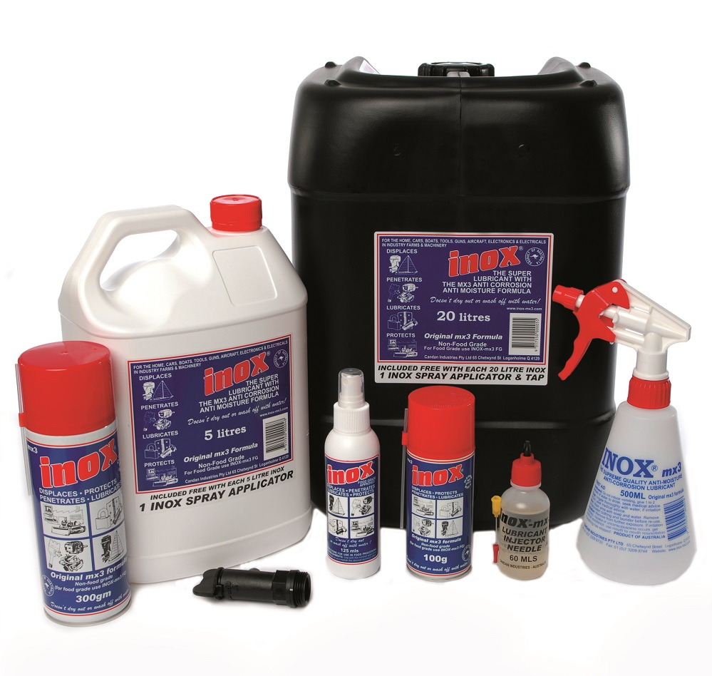 Lubricants and Sprays for Construction and Mining Industry Perth Australia